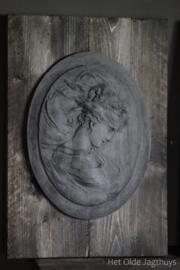 Ornament Hout en Beton -Juul- (set van 2)