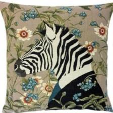 Gobelin Kissen Zebra (2-er set)