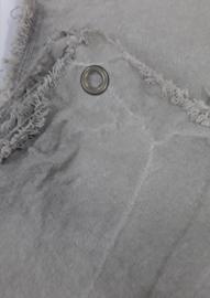 RAW Leinen Tuch mit Seilring