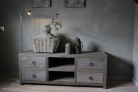 TV-Sideboard Altes Holz ''Rough'' 160 cm