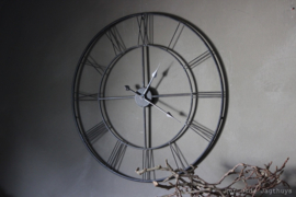 Klok Bary IJzer Ø77x4 cm