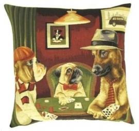 Gobelin Kissen Poker