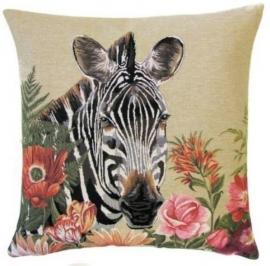 Gobelin kussen Zebra