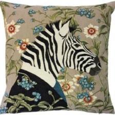 Gobelin kussen Zebra (set van 2)
