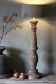 Houten Lamp 70 cm