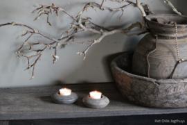 Houten Waxinelichtje -Aura Peeperkorn-