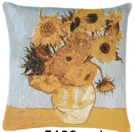 Gobelin kussen Van Gogh Zonnebloem 50x50cm