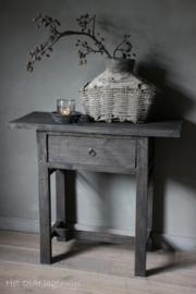 Tisch Altes Holz mit einer Schublade
