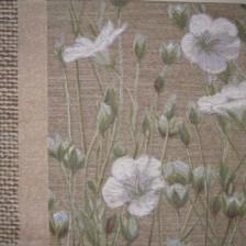 Gobelin kussen Linnenbloem 40x50cm