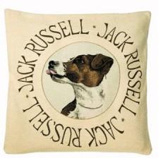 Gobelin kissen Jack Russell