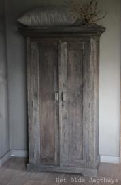 Kast Oud Hout 2-deurs