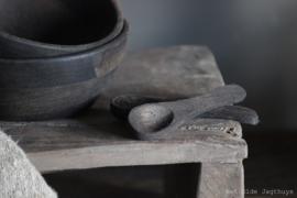 Houten Lepeltje Mango Wood 13 cm