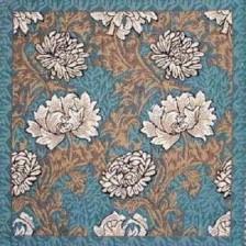 Gobelin kussen Witte bloemen 45x45cm