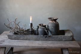 Oude Houten Schaal -Aura Peeperkorn-