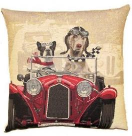 Gobelin Kissen Greyhound