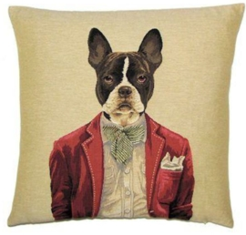 Gobelin kussen Boston Terrier