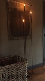 Vloerkandelaar Marloes Roest 120 cm