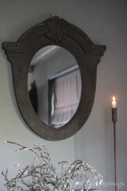Spiegel Oud Hout -Aura Peeperkorn-