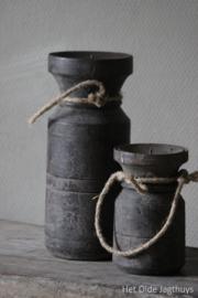 Kerzenhalter Wasserkrug Vintage Grey Medium