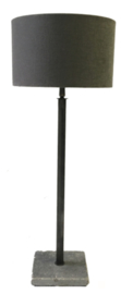 Tafellamp Verstelbaar Aura Peeperkorn (lichtgrijze buis)