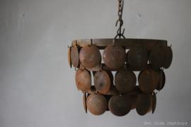 Metalen Schijvenlamp Roest