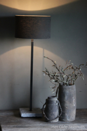 Tischlampe Dunne Haas Aura Peeperkorn (dunkelgraue Röhre)