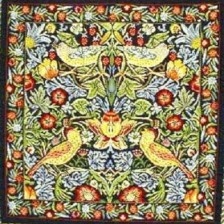 Gobelin kussen William Morris 45x45cm