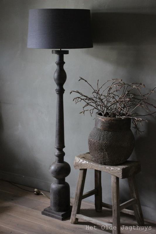 Vloerlamp Grey Finish | Lampen en Lampenkappen | Het Olde