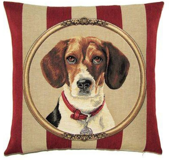 Gobelin kussen Beagle