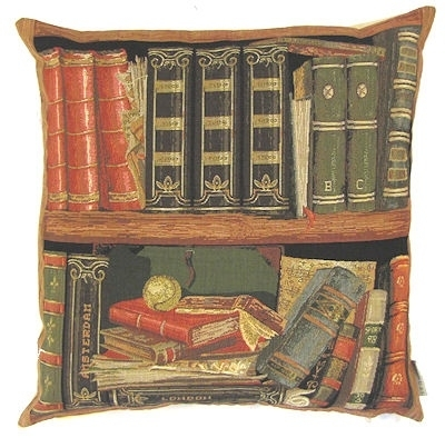 Gobelin kussen Boeken
