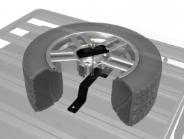 FRONT RUNNER NEW SPARE WHEEL CLAMP