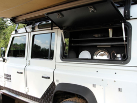 Land Rover Defender Gullwing Window / Aluminium - door Front Runner