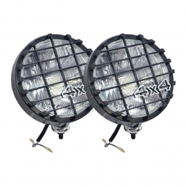 DRIVING LAMPS PAIR 8 INCH BLACK