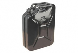 JERRY CAN 20 LITRE BLACK