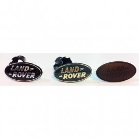 LR Badge Matt Black