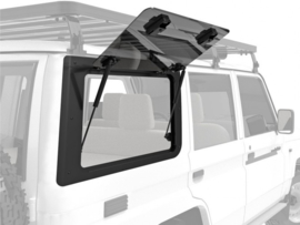Toyota Land Cruiser 70 Gullwing Window / Right Hand Side Glass - door Front Runner