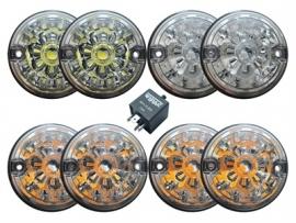 Clear LED light kit