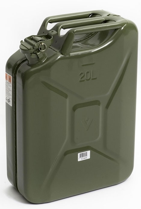 JERRY CAN 20 LITRE OLIVE