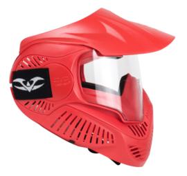Dodgebow/Archerytag masker basic Rood topstrap