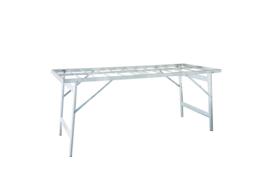 vlakke tafel 60 x 150 x 60cm hoog