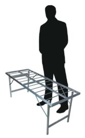 Vlakke tafel 60cm hoogte