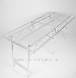 Koffer tafel 120 x 200 x 80cm hoog ( K-120 )