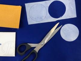 Zeil reparatie plak set / reparatie stickers