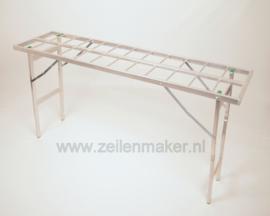 Vlakke tafel 40 x 150 x 80 cm hoog  (B8040)