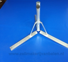 Parasolvoet  zware Ø 3,5 cm