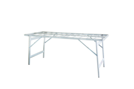 Vlakke tafel 80cm hoogte