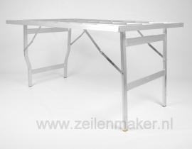 Vlakke tafel hoog 60 x 150 x 80 cm hoog  (B8060)
