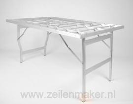 Vlakke tafel Mini 60 x 120 x 80cm hoog  (M-60)