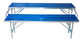 Treppen-Tisch 2 Stufen 30 x 150 cm (E-302)