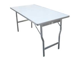 Tisch mit Aluminiumplatte  0,40 x 1,50 x 0,80 mm